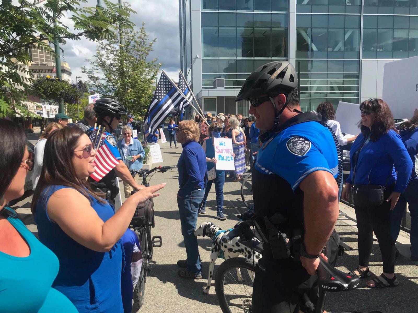Police rally3