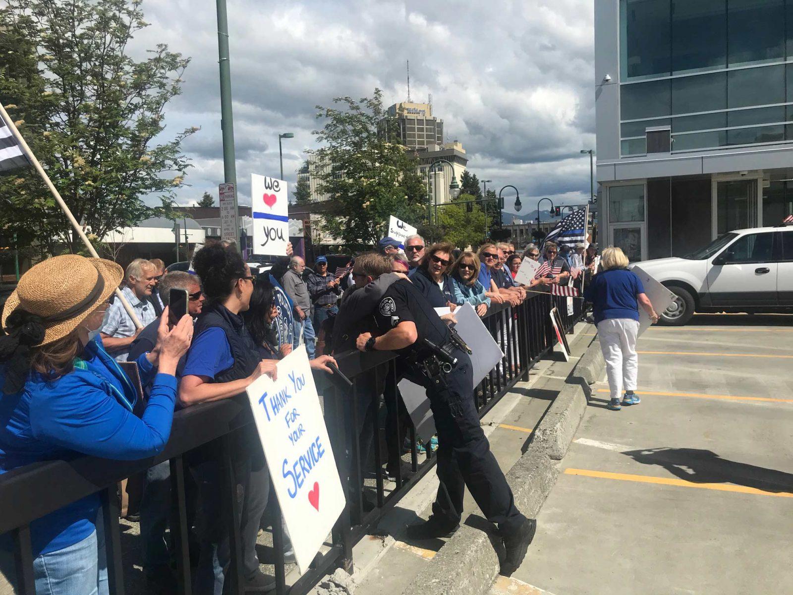 Police rally4