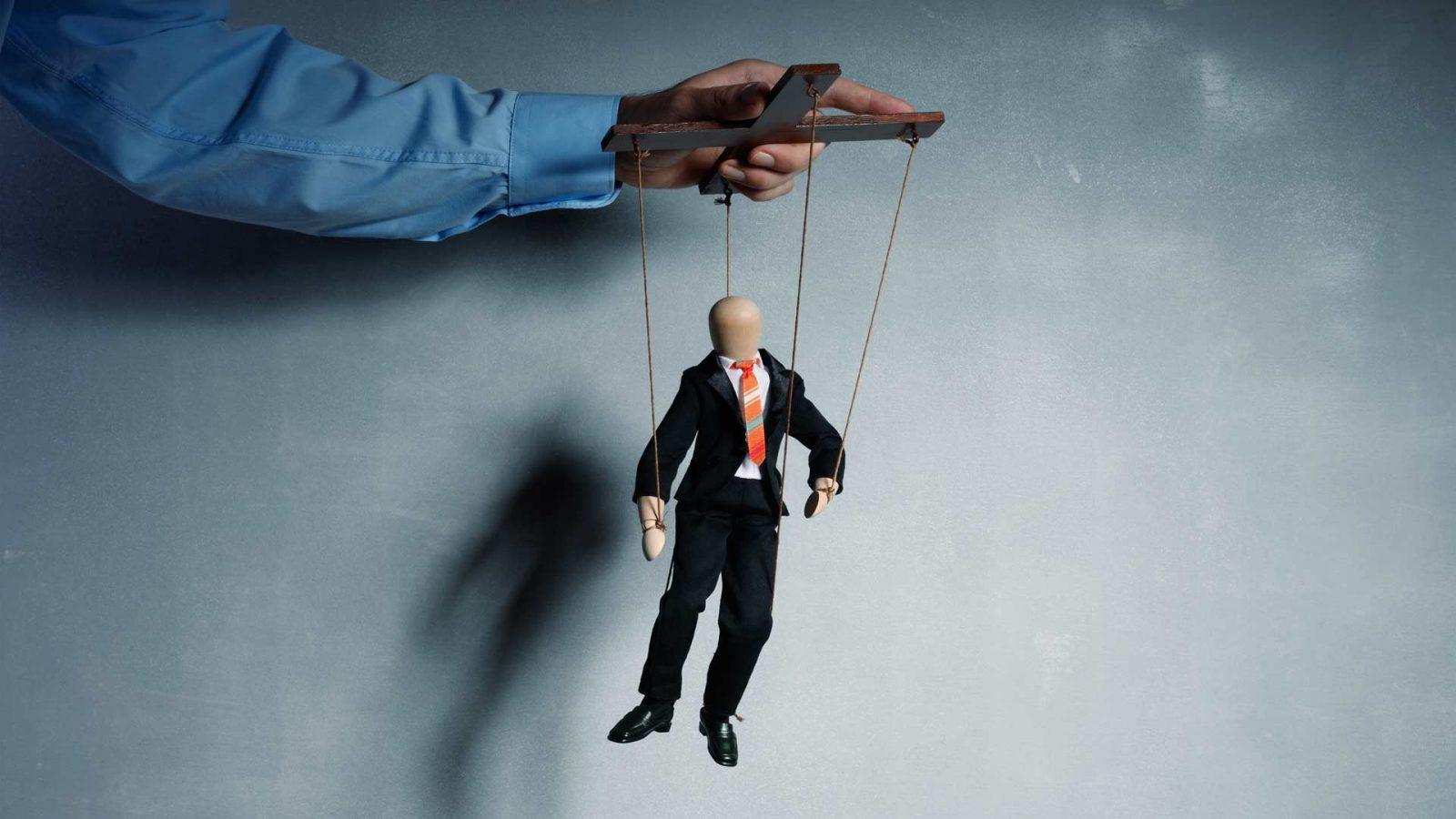 Binding caucus puppet pic